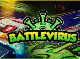 BattleKart presenteert zijn nieuwe BattleVirus-spelmodus in Kortrijk Xpo