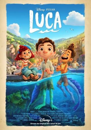 """Disney+ viert de streaming van Luca in België met een """"Sea Monster Bar"""" in Knokke-Heist"""