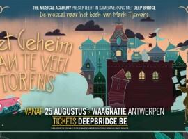The Musical Academy speelt 'Het Geheim van Te Veel Torens'