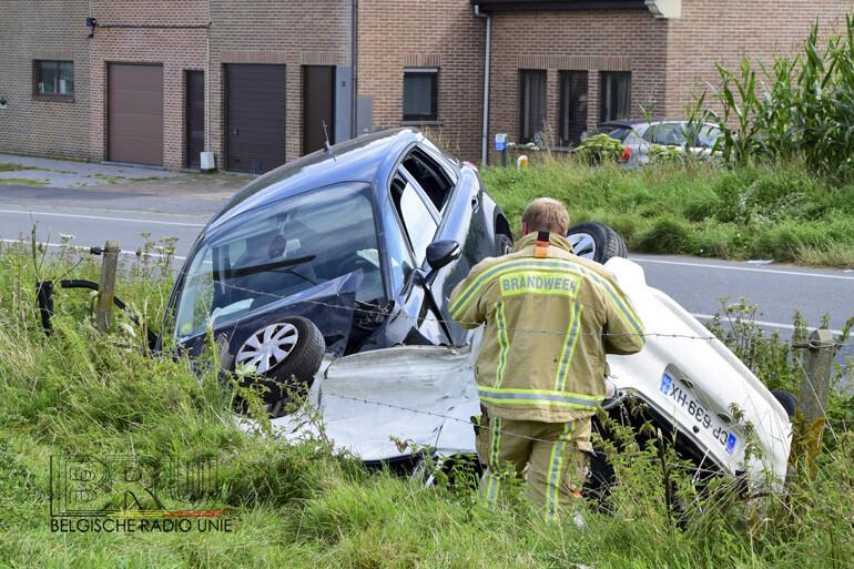 Vijf gewonden bij zwaar verkeersongeval in Wijtschate