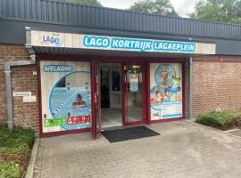 LAGO Kortrijk Lagaeplein opgeknapt